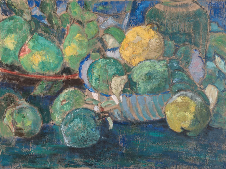 Barbara Guias-Vaquier - Nature bleue et verte