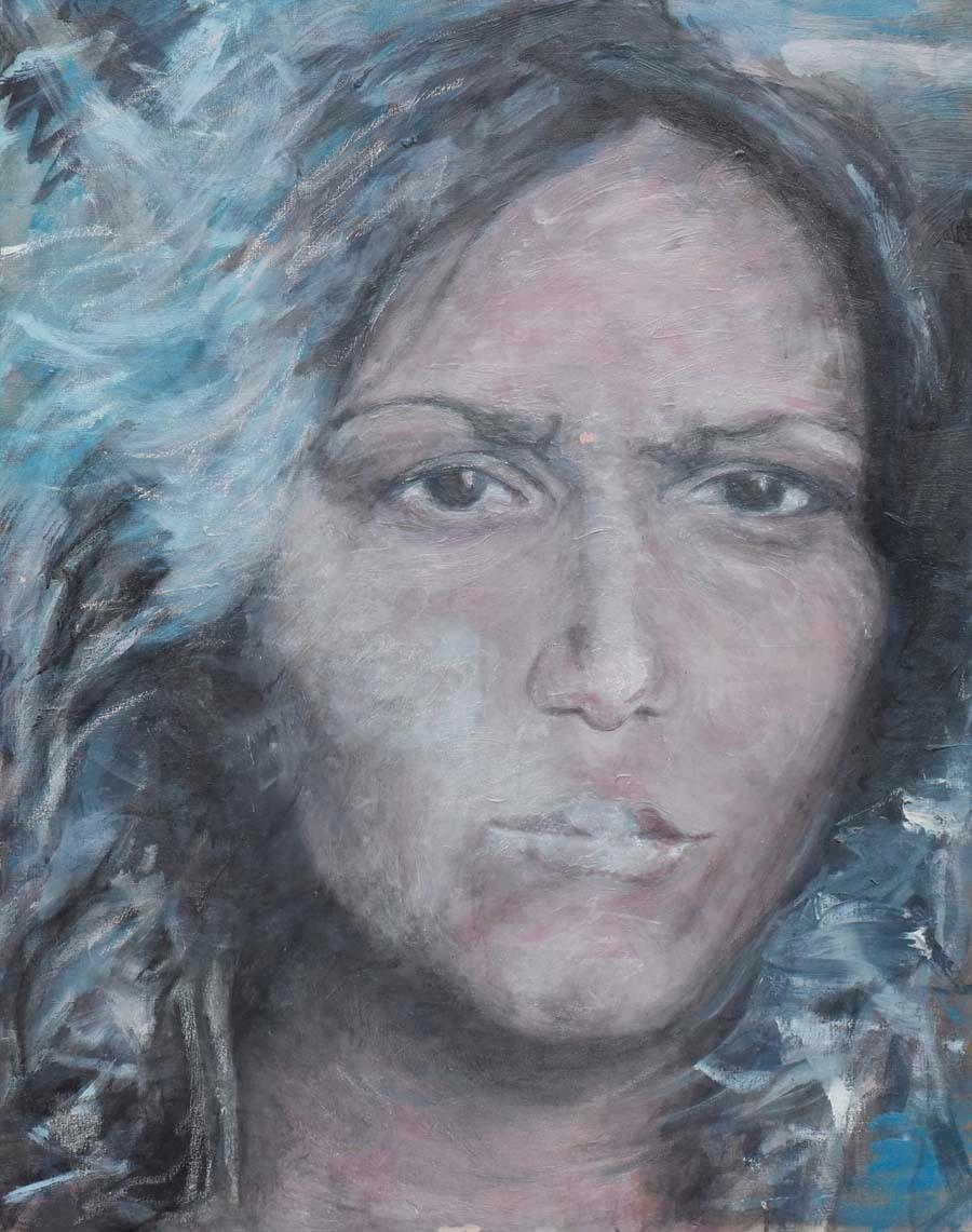 Barbara Guias-Vaquier - Eugénie fume encore